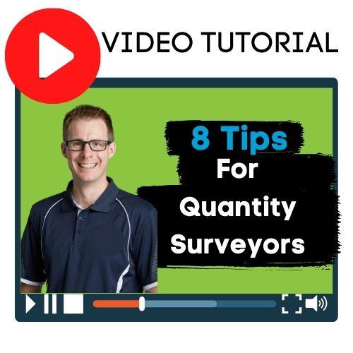quantity surveyors tips